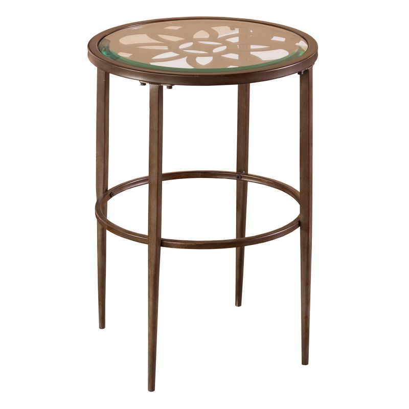 Hillsdale Furniture Marsala End Table, Grey