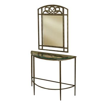Hillsdale Furniture Marsala Console Table & Wall Mirror 2-piece Set