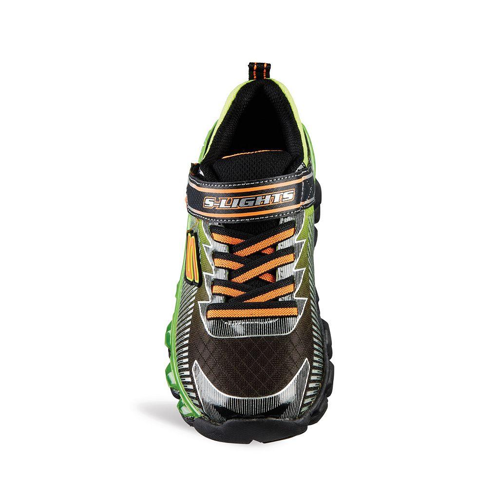 Skechers S Lights Flashpod Scoria Boys' Light-Up Sneakers