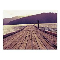 Trademark Fine Art Dock Canvas Wall Art