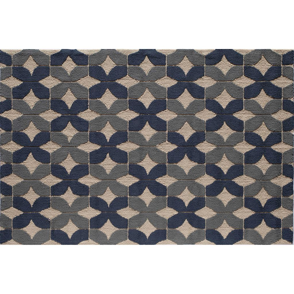 Rugs America Lenai CrissCross Indoor Outdoor Rug