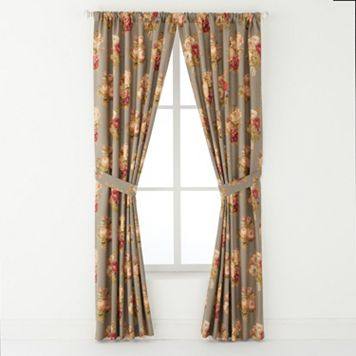 Chaps Home 2-pack Hudson River Valley Window Curtain