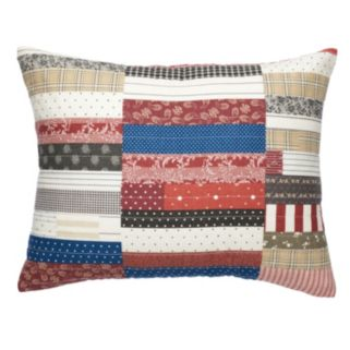 Chaps Home Hudson River Valley Patchwork Throw Pillow