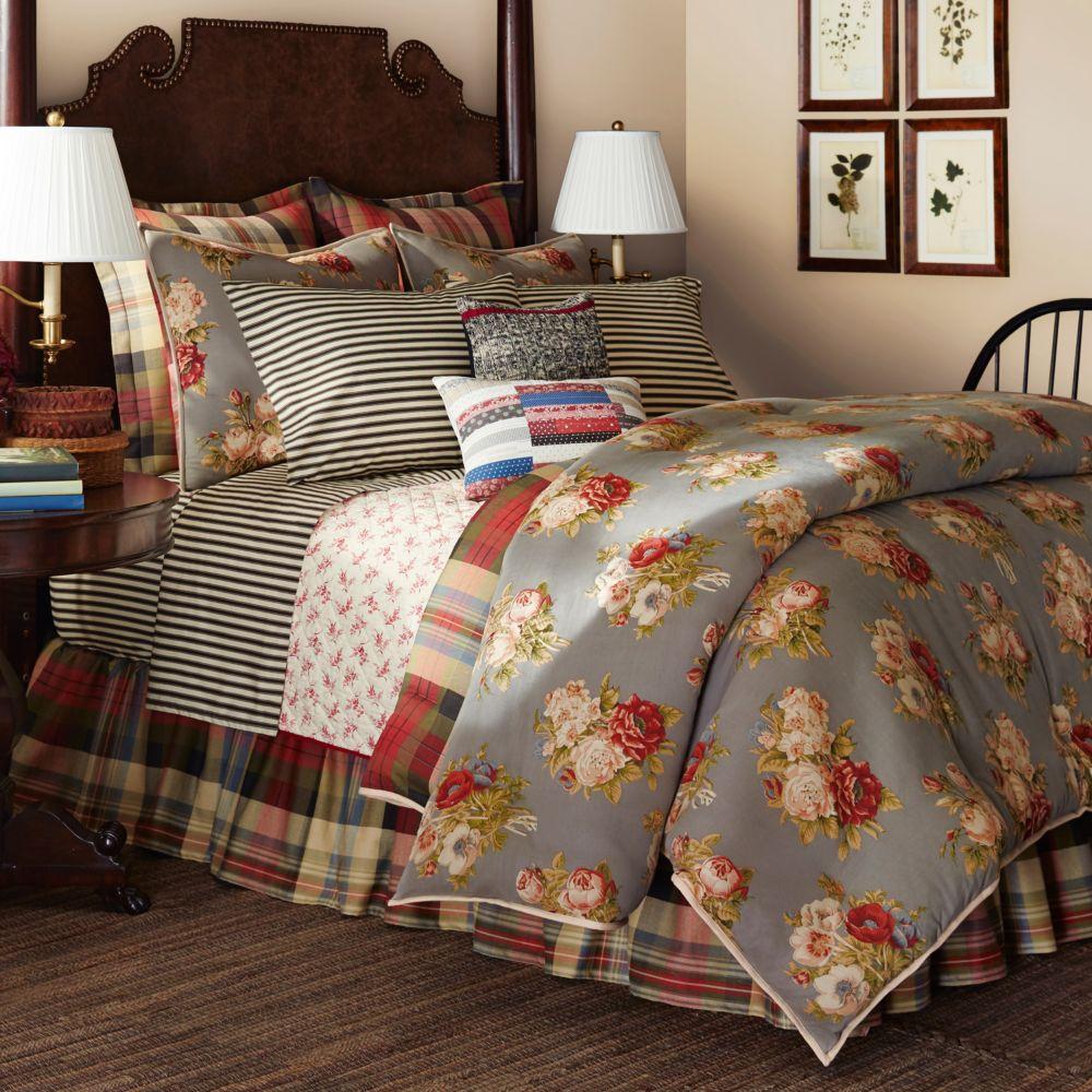 home hudson river valley comforter set