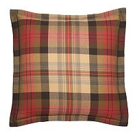 Chaps Hudson River Valley Plaid Euro Sham
