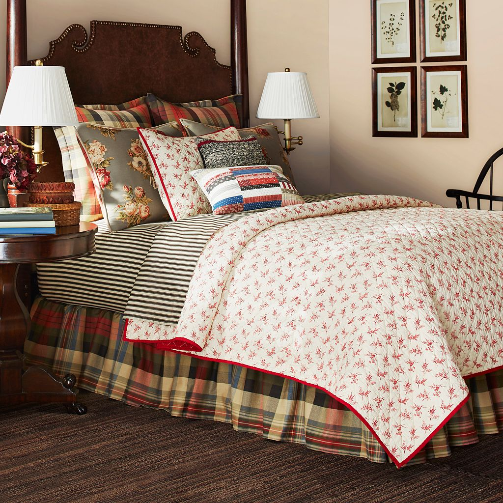 Chaps Home Hudson River Valley Coverlet