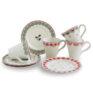 Portmeirion Sophie Conran 8-pc. Christmas Dinnerware Set