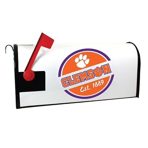 Clemson Tigers Magnetic Mailbox Cover