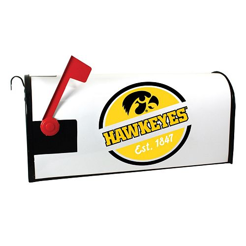 Iowa Hawkeyes Magnetic Mailbox Cover