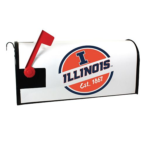 Illinois Fighting Illini Magnetic Mailbox Cover