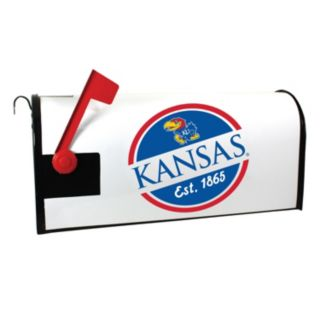 Kansas Jayhawks Magnetic Mailbox Cover
