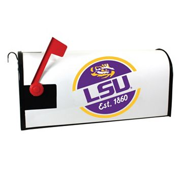 LSU Tigers Magnetic Mailbox Cover