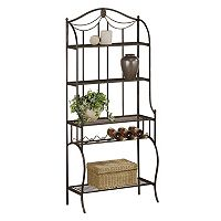 Hillsdale Furniture Camelot Storage Baker's Rack