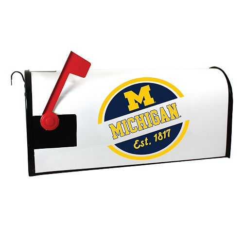 Michigan Wolverines Magnetic Mailbox Cover