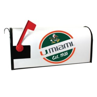 Miami Hurricanes Magnetic Mailbox Cover