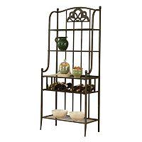 Hillsdale Furniture Marsala Storage Baker's Rack