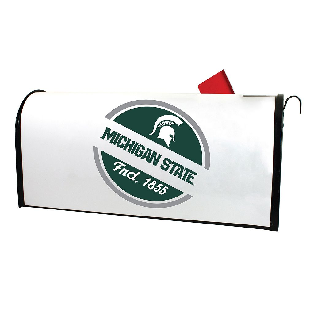 Michigan State Spartans Magnetic Mailbox Cover