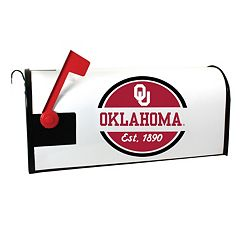 Oklahoma Sooners Magnetic Mailbox Cover