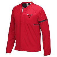 Men's adidas Chicago Bulls On-Court Henley Jacket