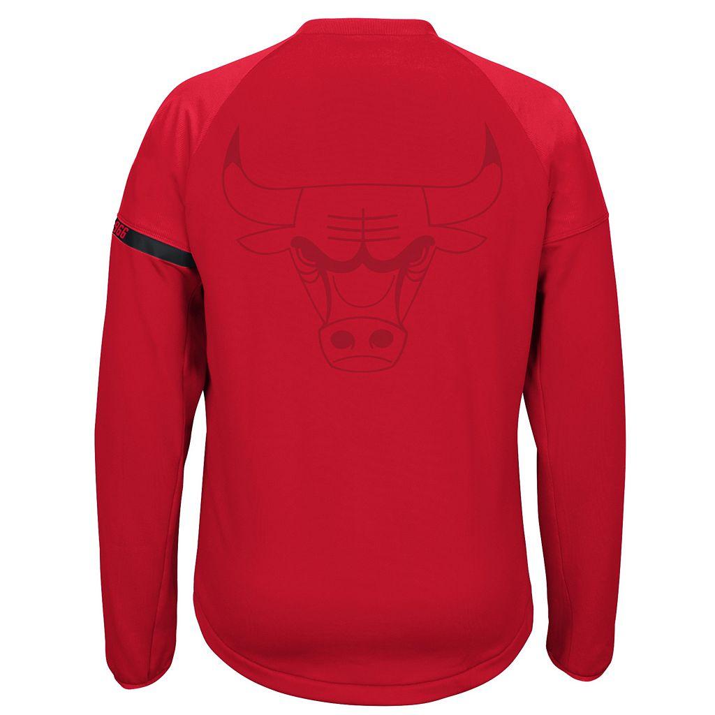 Men's adidas Chicago Bulls On-Court Henley Jacket