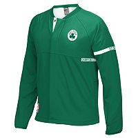 Men's adidas Boston Celtics On-Court Henley Jacket