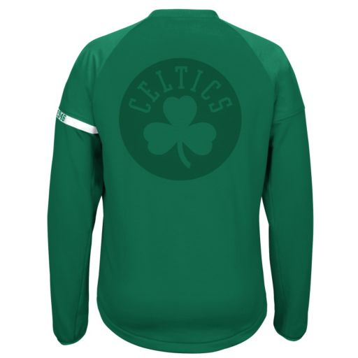 Men's adidas Boston Celtics On-Court Henley Jacket