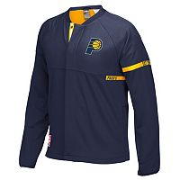 Men's adidas Indiana Pacers On-Court Henley Jacket