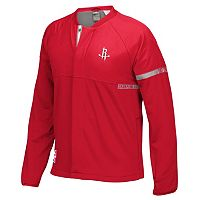 Men's adidas Houston Rockets On-Court Henley Jacket