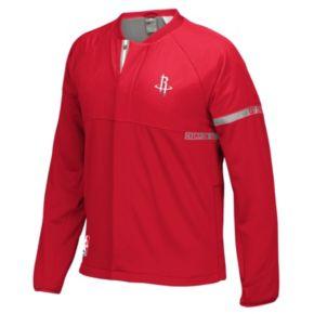 Men's adidas Houston Rockets On-Court Henley Jacket