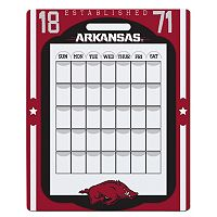 Arkansas Razorbacks Dry Erase Calendar