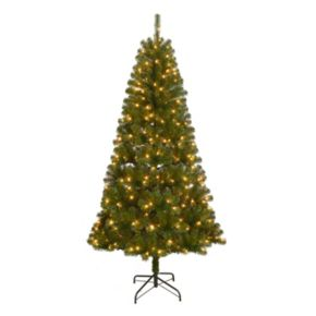 St. Nicholas Square® 7-ft. Pre-Lit Artificial Christmas Tree