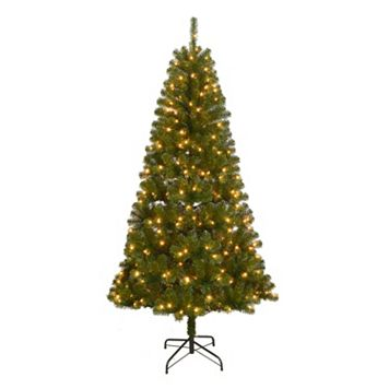 St. Nicholas Square® 7-ft. Pre-Lit Artificial Christmas Tree