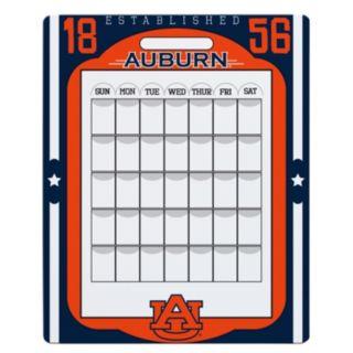 Auburn Tigers Dry Erase Calendar
