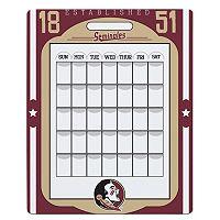 Florida State Seminoles Dry Erase Calendar