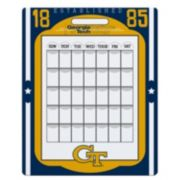 Georgia Tech Yellow Jackets Dry Erase Calendar