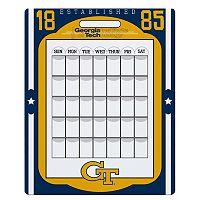 Georgia Tech Yellow Jackets Dry Erase Calendar
