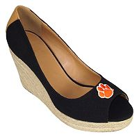 Women's Campus Cruzerz Clemson Tigers South Park Platform Wedge Heels