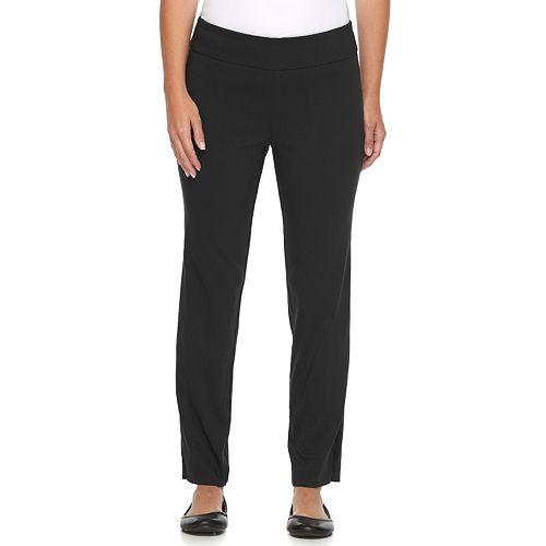 Petite Dana Buchman Slimming Solution Classic Fit Dress Pants