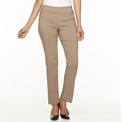 Petite Dana Buchman Slimming Solution Classic Fit Dress Pants