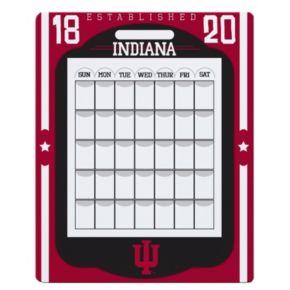 Indiana Hoosiers Dry Erase Calendar