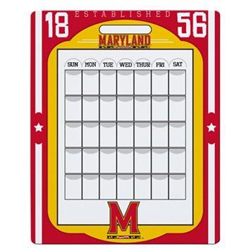 Maryland Terrapins Dry Erase Calendar