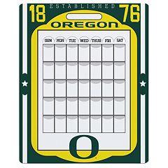 Oregon Ducks Dry Erase Calendar