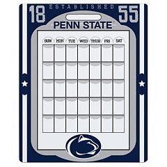 Penn State Nittany Lions Dry Erase Calendar