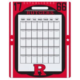Rutgers Scarlet Knights Dry Erase Calendar