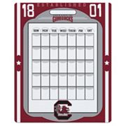 South Carolina Gamecocks Dry Erase Calendar