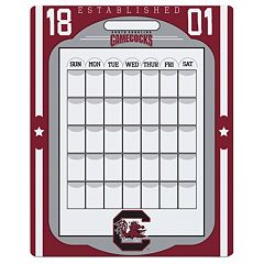South Carolina Gamecocks Dry Erase Calendar