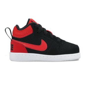 Nike Court Borough Mid Toddler Boys' Shoes