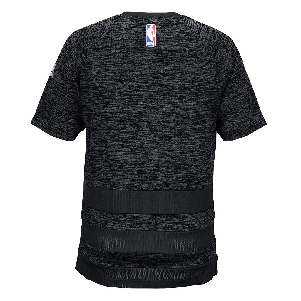 Men's adidas Golden State Warriors On Court Shooter Tee