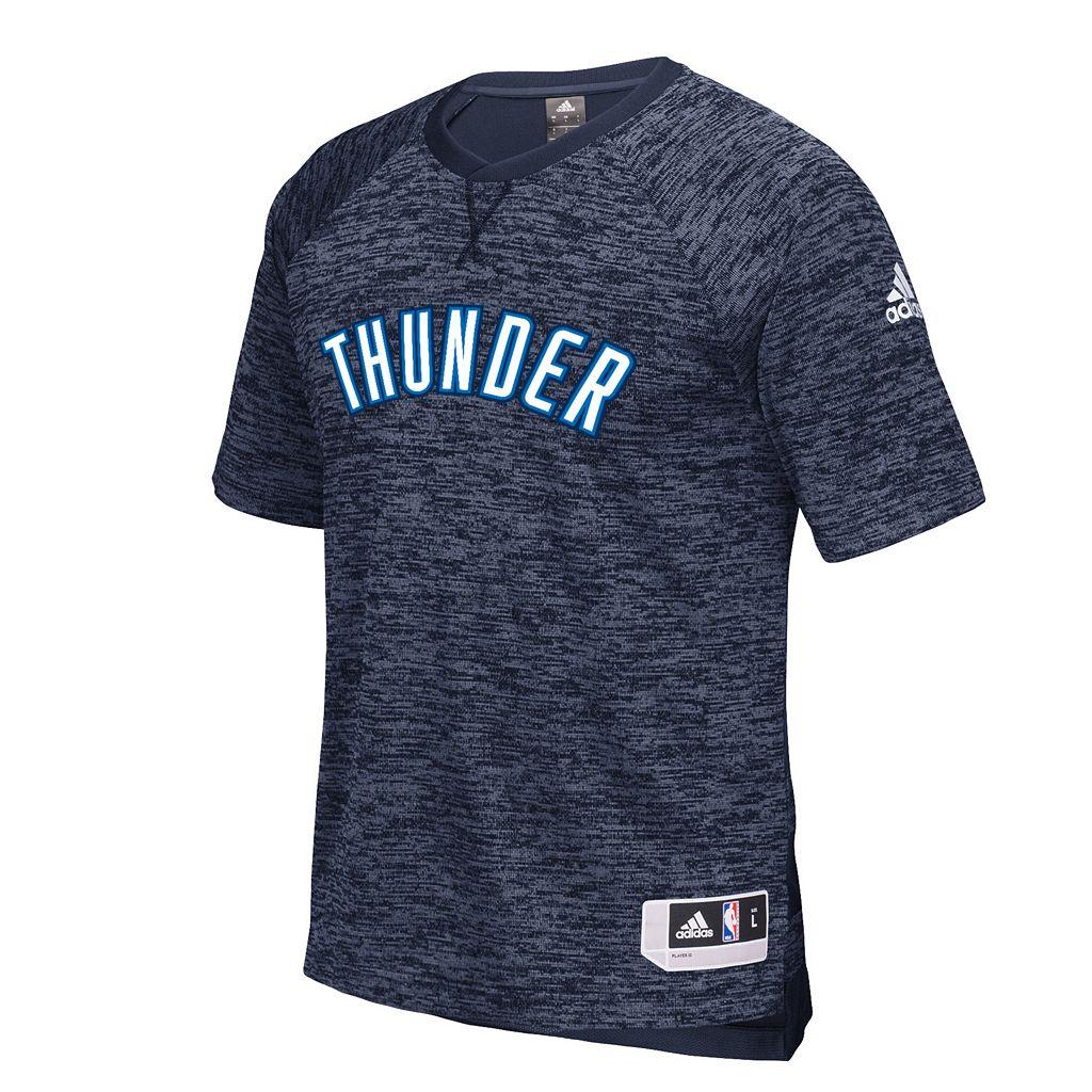 Men's adidas Oklahoma City Thunder On Court Shooter Tee