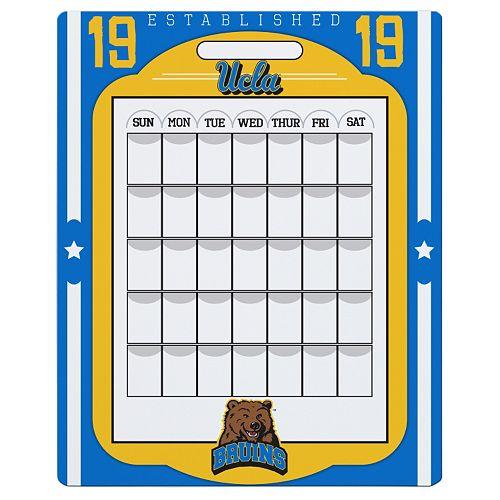 UCLA Bruins Dry Erase Calendar